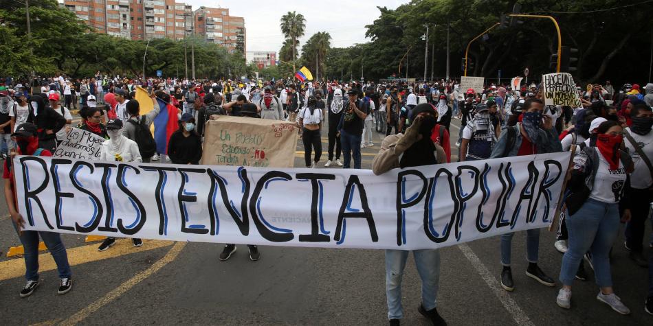 Colombie. Une répression farouche contre une grève qui vise des politiques  qui précarisent la vie… – A l'encontre
