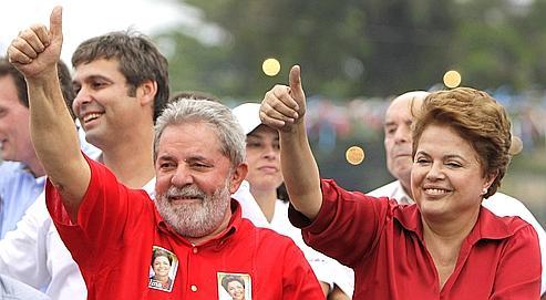 Dilma Rousseff, Luiz Inacio Lula da Silva