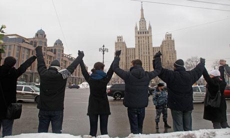 russian protest