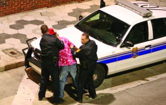 violent police
