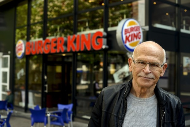Workers-Protest-At-Burger-King-With-Guenter-Wallraff