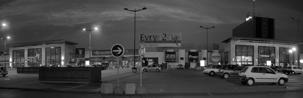 Panoramique Centre Commercial Agora Evry 2 x700