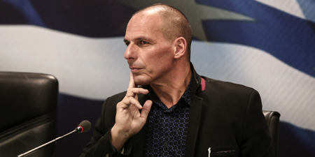 Greece's New Finance Minister Yanis Varoufakis