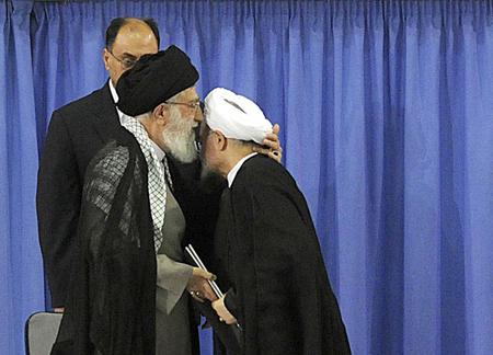 IRAN-POLITICS-ROWHANI-CEREMONY