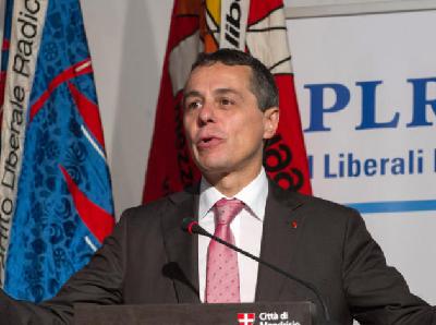 Ignazio Cassis, 8 décembre 2015