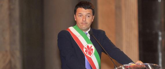 Matteo Renzi alla cerimonia per la festa di San Valentino
