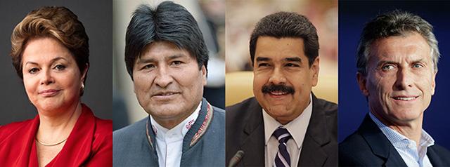 Rousseff-Morales-Maduro-Macri-2