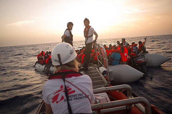 Aquarius Search and Rescue October 2016