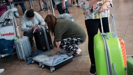 Strike Swissport at Brussels Airport: