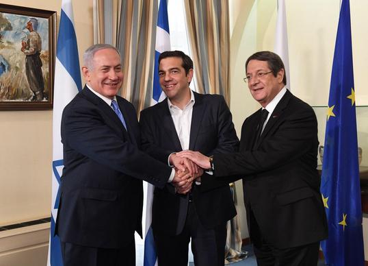 NetanyahouTsiprasAnastasiades