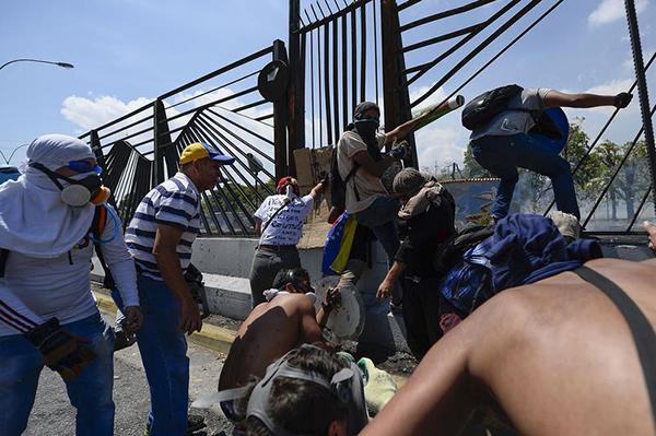 VENEZUELA-CRISIS-CLASHES