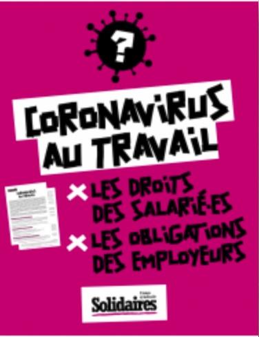 CoronavirusTravail