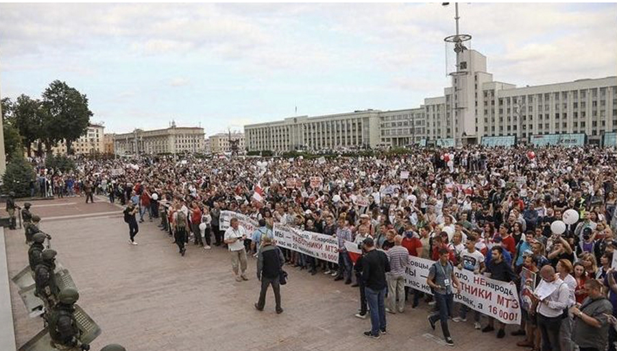 ManifBielorussie