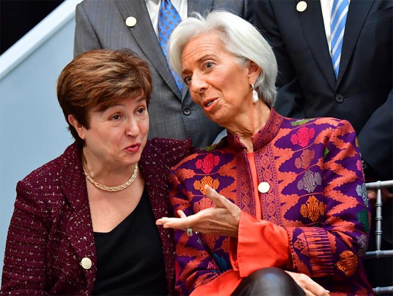 KristalinaGeorgievaChristine Lagarde
