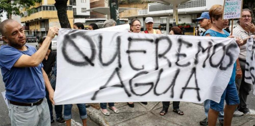 QueremosAguaVenezuela